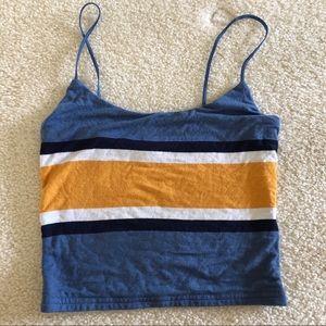 pacsun basic thin strap cami